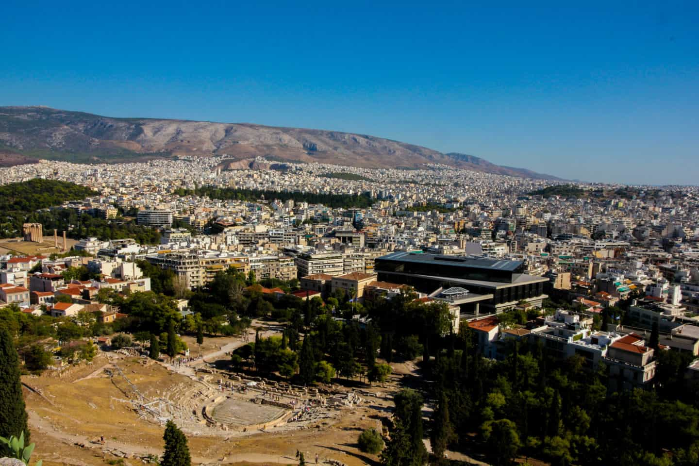 The Theater of Dionysus below the Acropolis