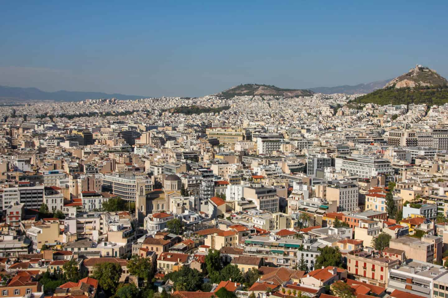 Checking out the view of Athens is a must do while visiting the Acropolis in Athens