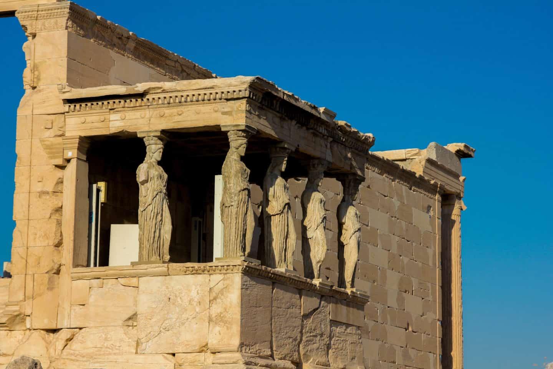 The maiden columns