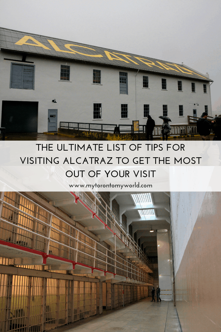 This handy list of tips for visiting Alcatraz will make your visit to the infamous prison so much more enjoyable! #alcatraz #sanfrancisco #california #unitedstates