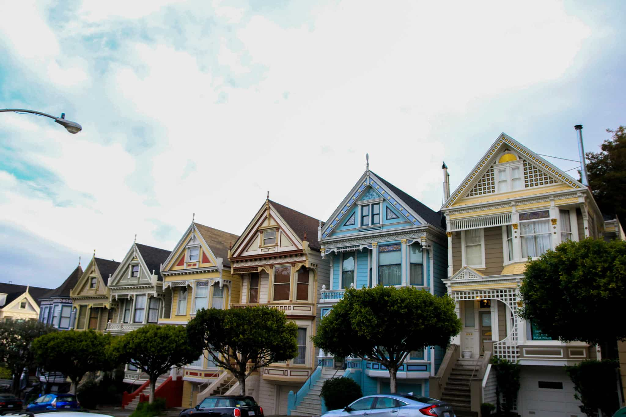 The Painted Ladies is a must when spending 2 days in San Francisco