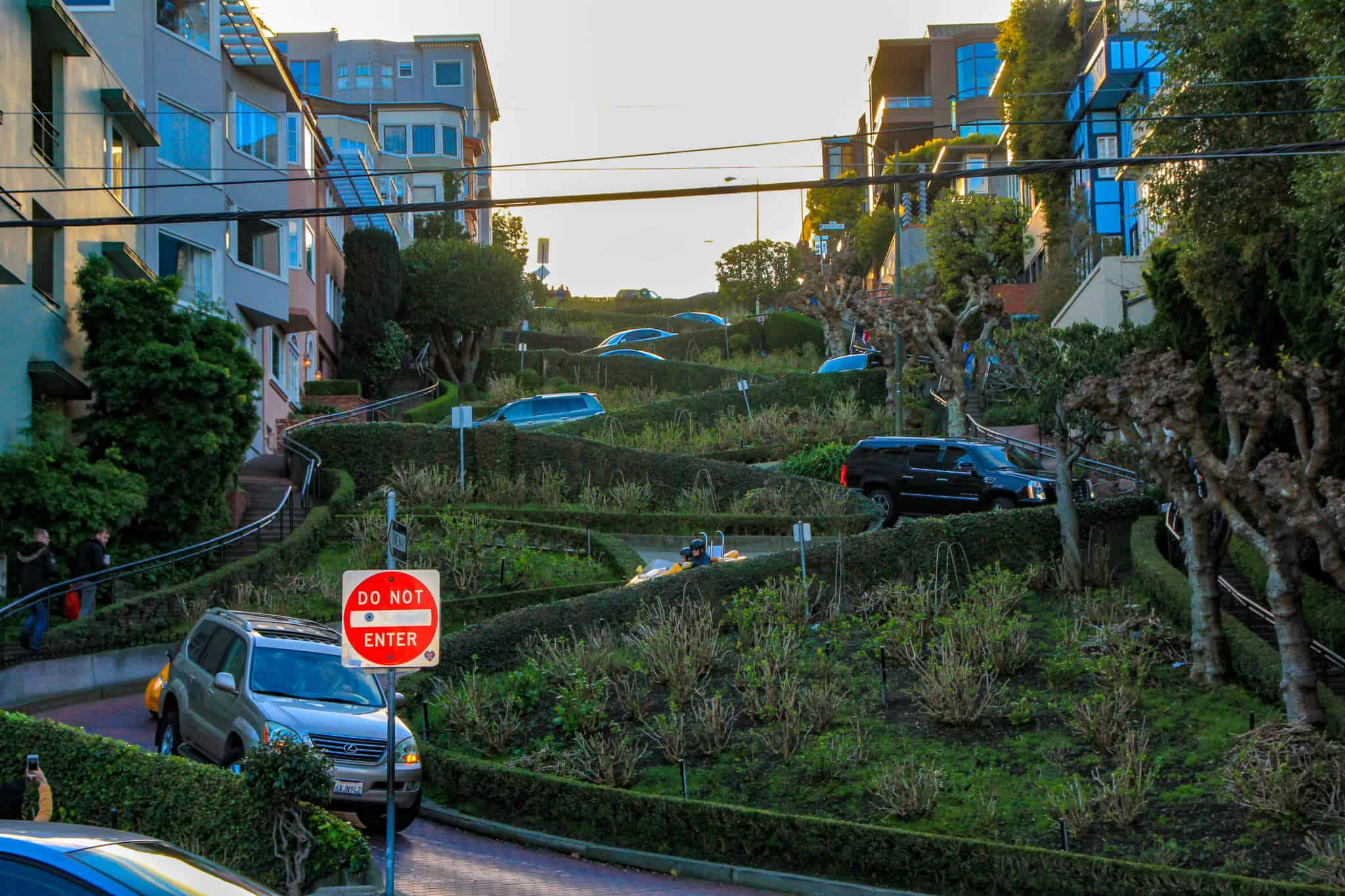 Driving/walking down Lombard Street is a must during 2 days in San Francisco