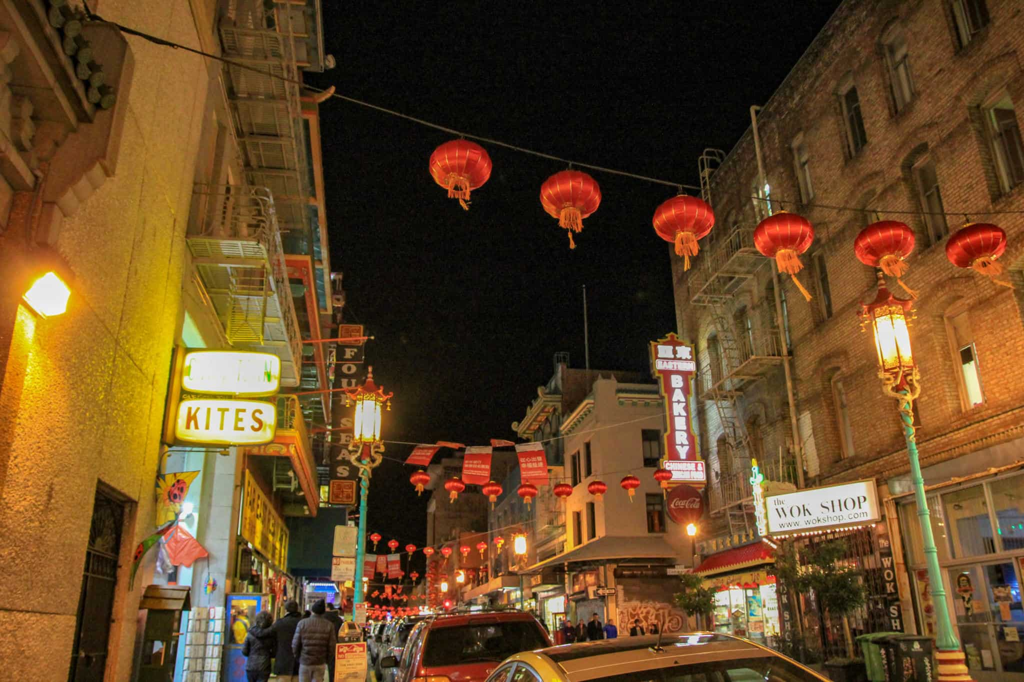 Visiting China Town during your 2 days in San Francisco is a must do!