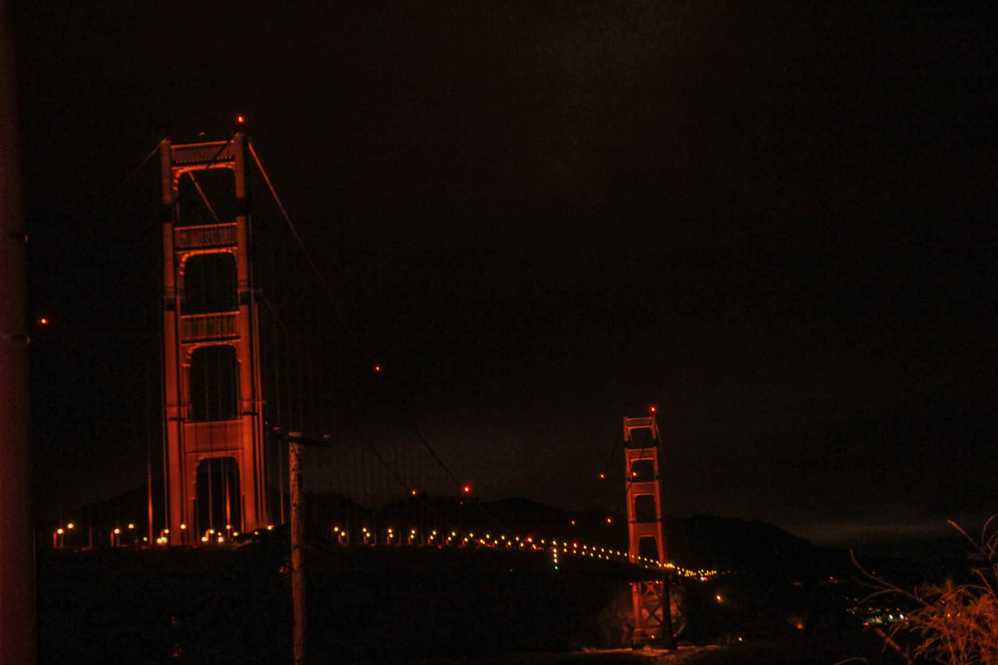 Seeing the Golden Gate Bridge is an absolute must during your 2 days in San Francisco