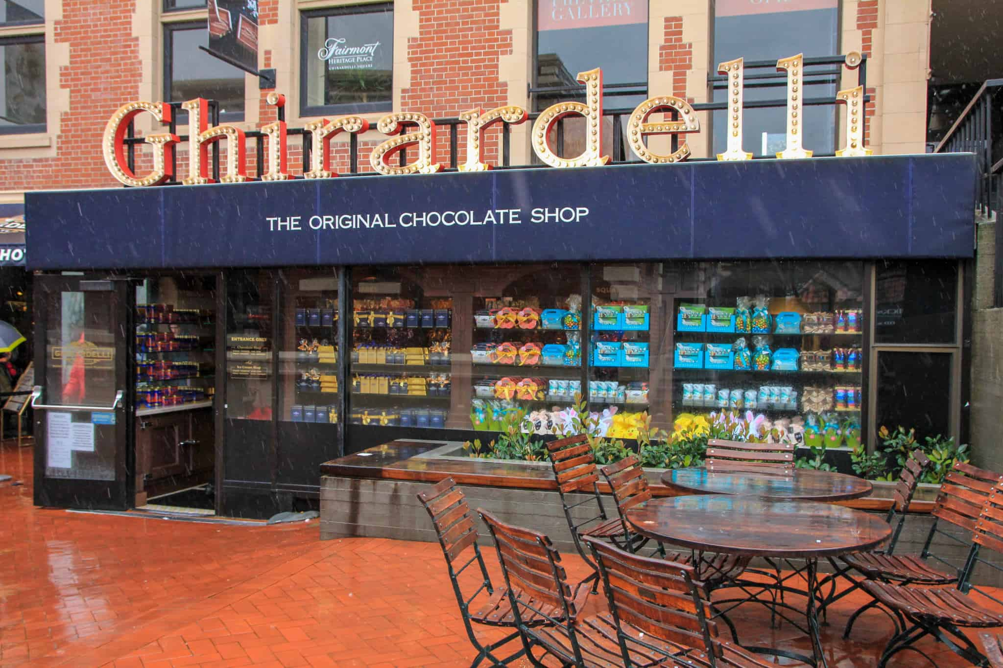 Grabbing some Ghirardelli Chocolate is an absolute must do when spending 2 days in San Francisco