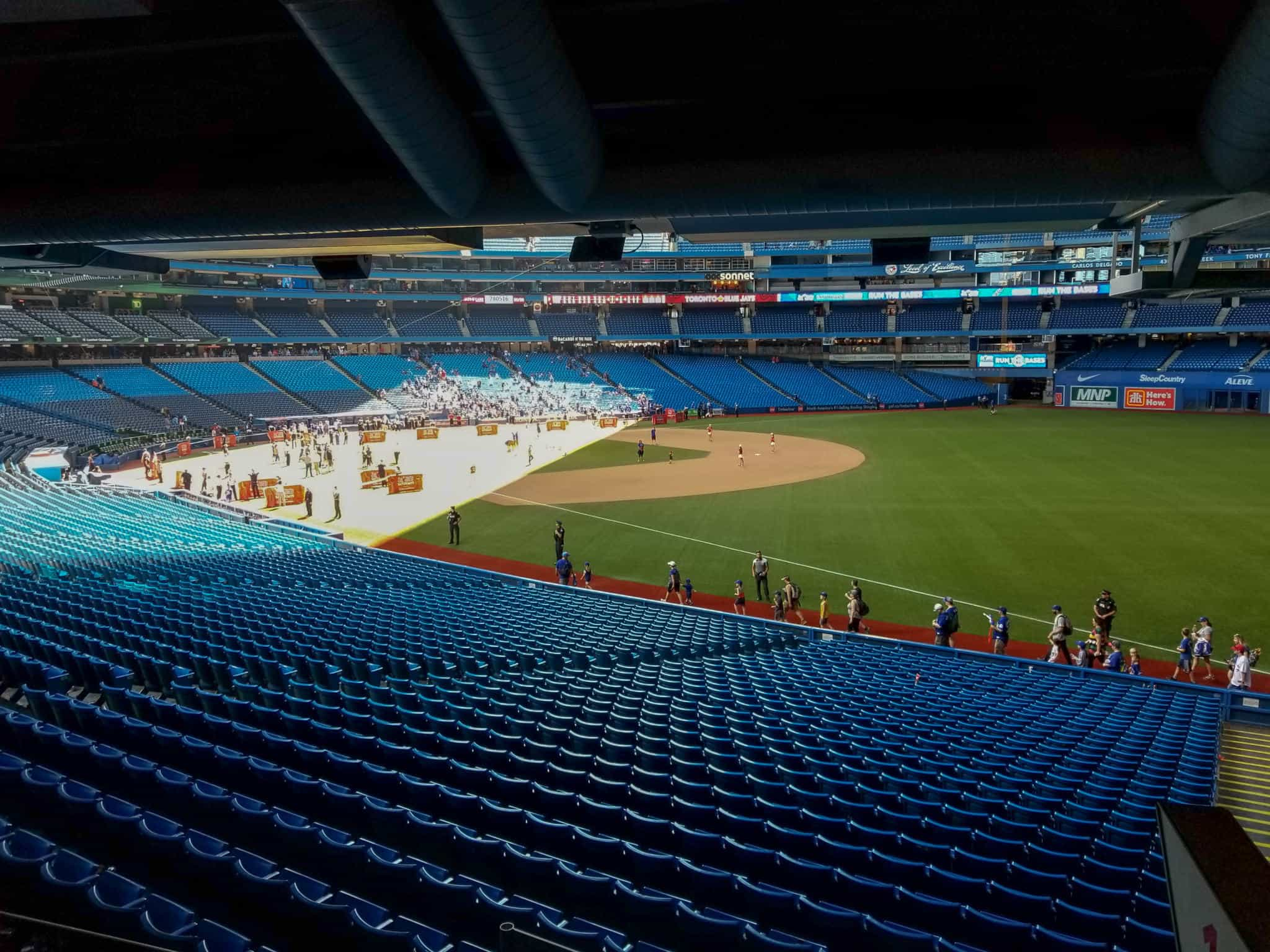 The Blue Jays Home Opener is one of the things to do in Toronto in spring