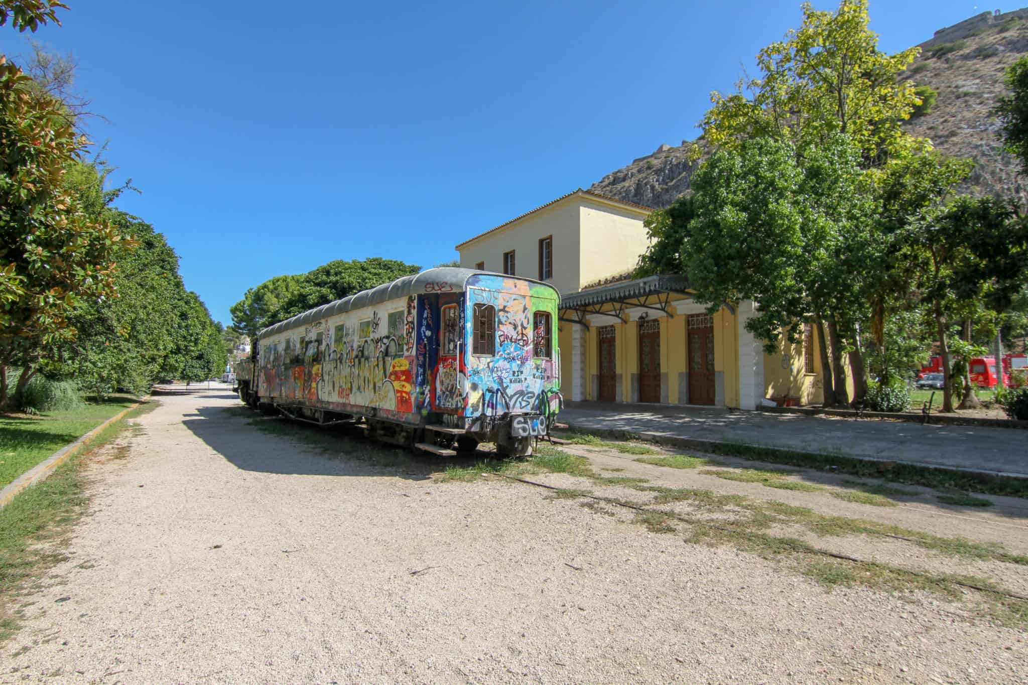 Nafplion Railway Park is one of the things to check out in Nafplio