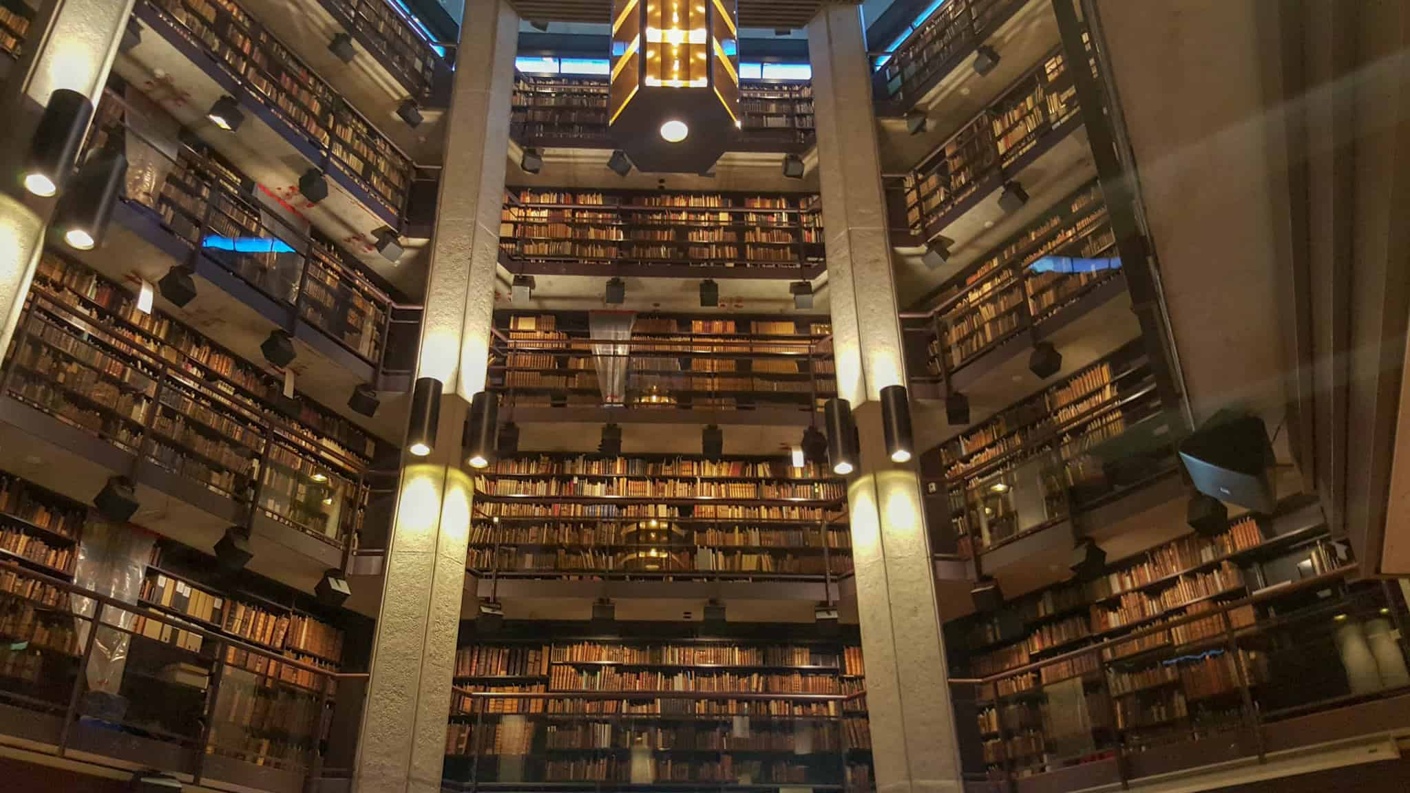 Checking out Thomas Fisher Rare Book Library is one of the free things to do in Toronto