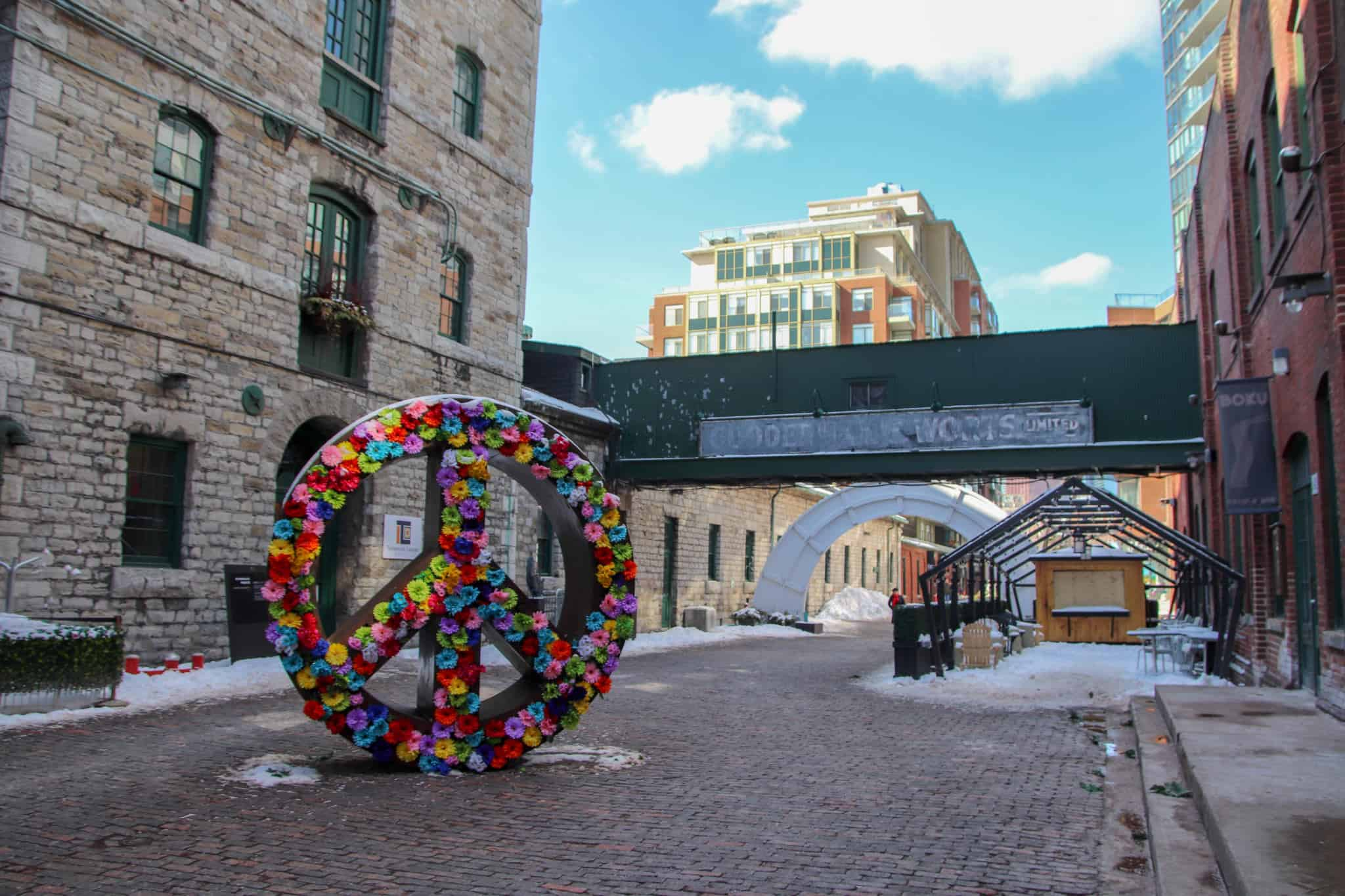 The forever charming Distillery District