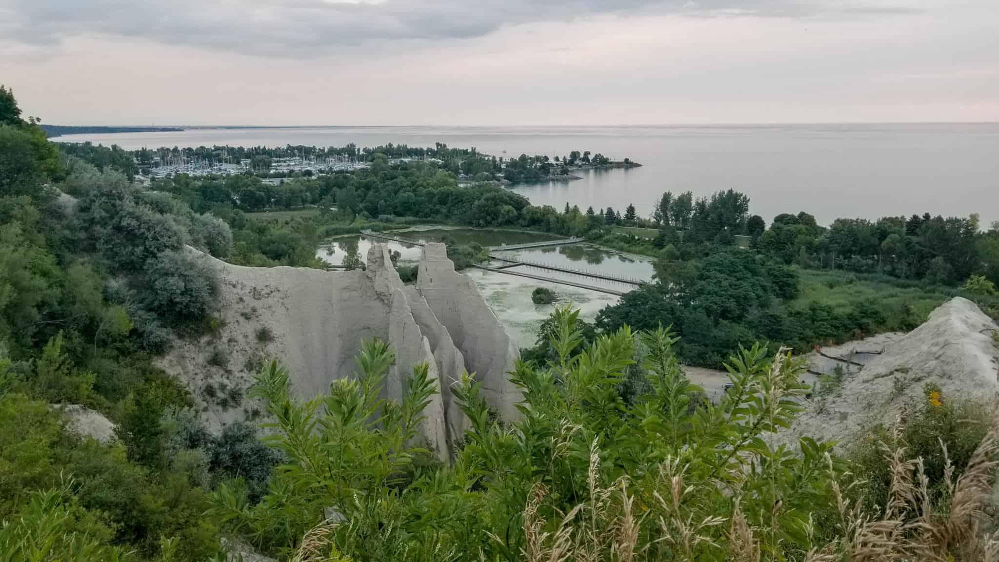 The ever stunning Scarborough Bluffs