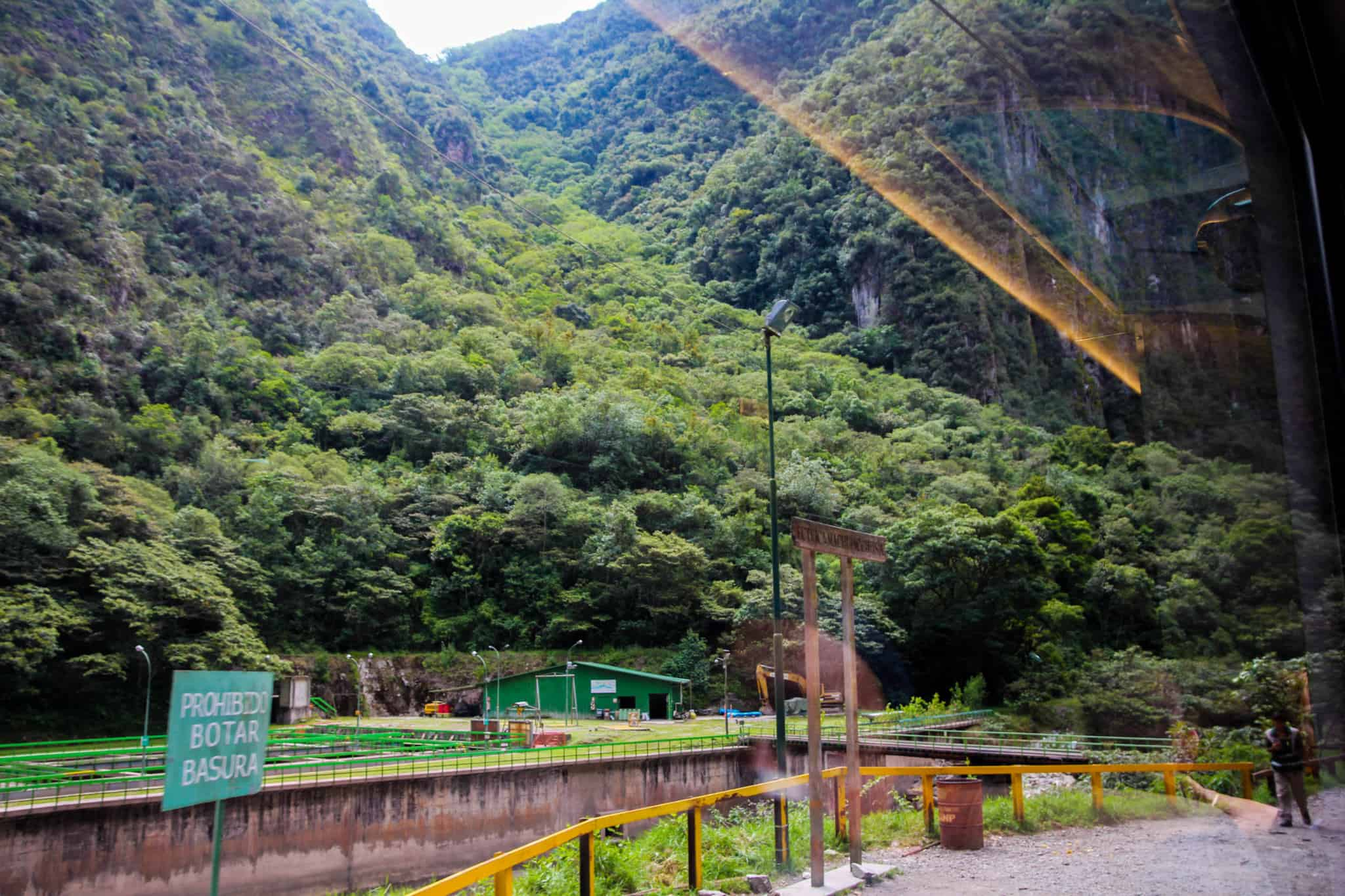 The views from the train ride to Aguas Calientes