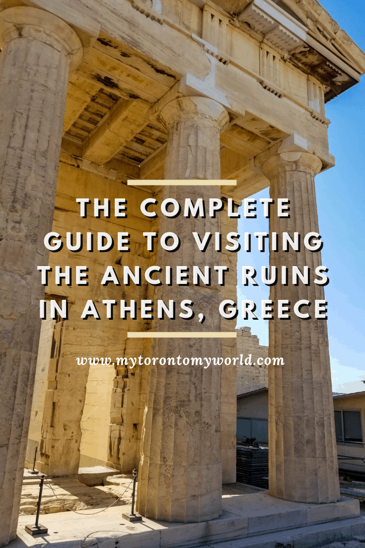 A complete guide to visiting all of the ancient ruins in Athens, Greece