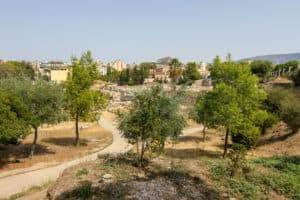 Kerameikos is one of the ruins in Athens