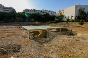 Lykeion is one of the ancient ruins in Athens