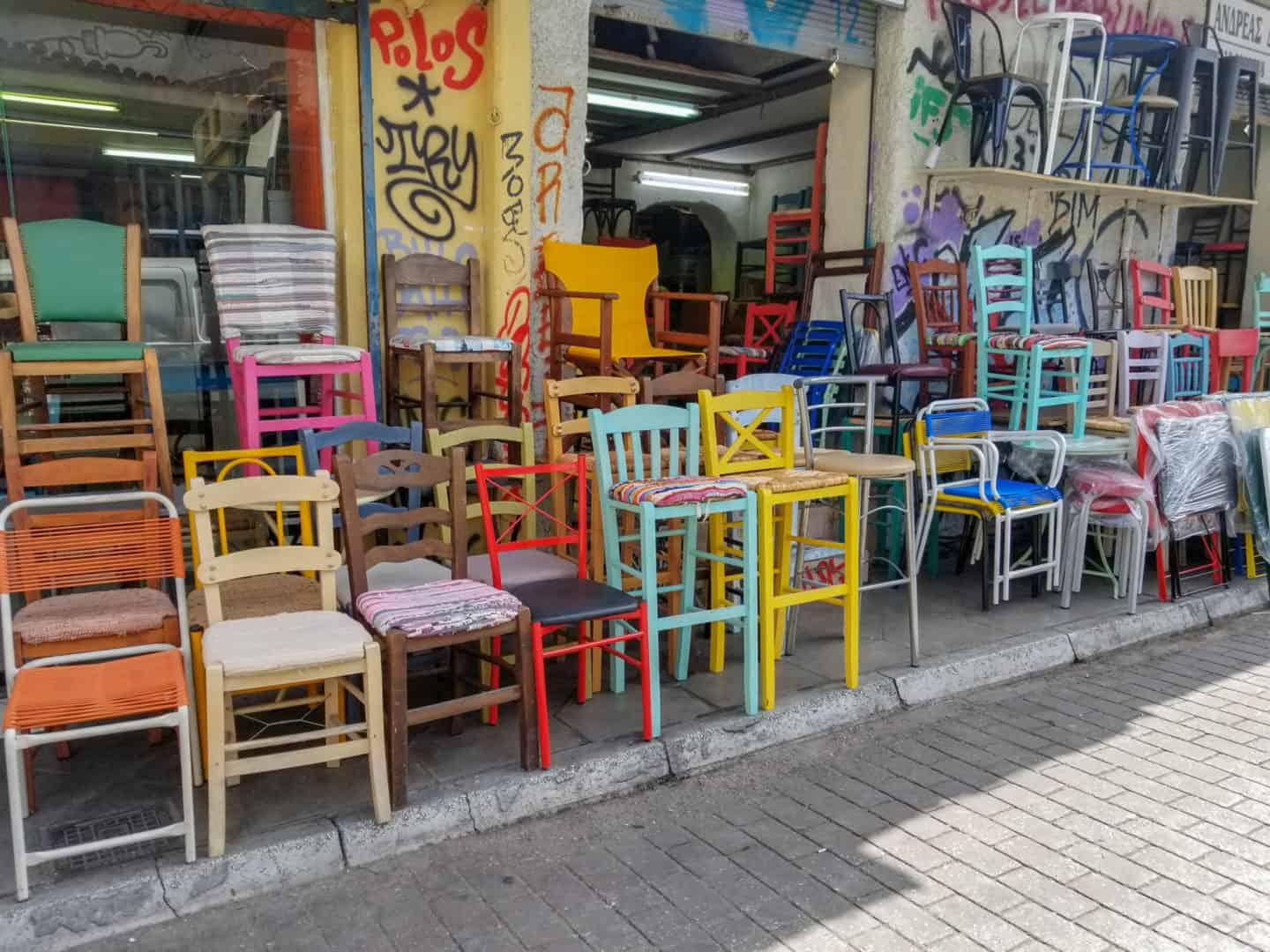Exploring Monastiraki Square and Flea Market is one of the things to do during 2 days in Athens