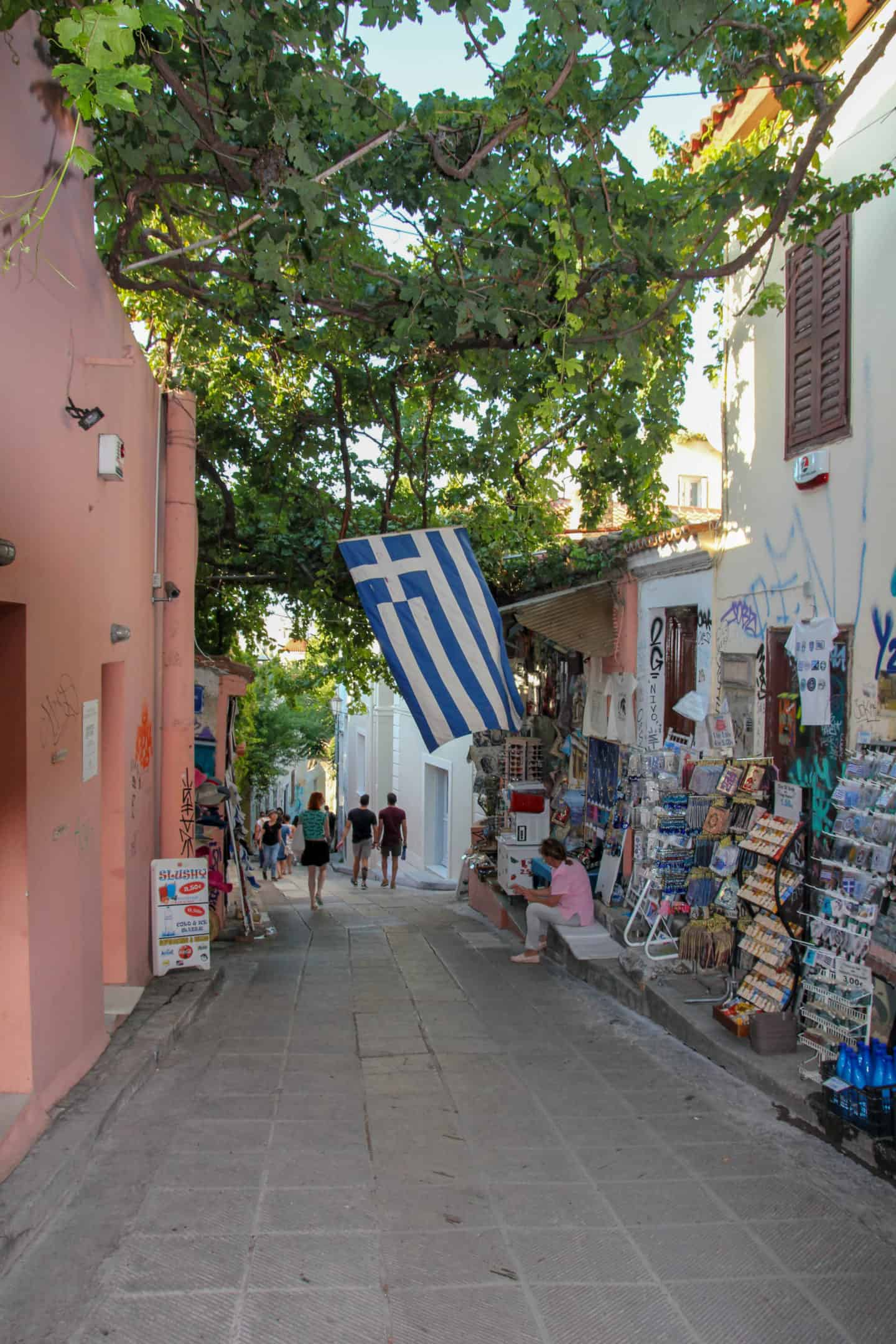 Exploring Plaka is one of the things to do during 2 days in Athens