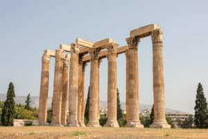 Visiting the Olempeion is one of the things to do during 2 days in Athens