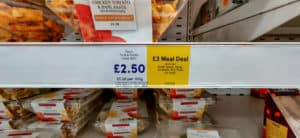 The meal deal is one of the best parts of London Grocery stores