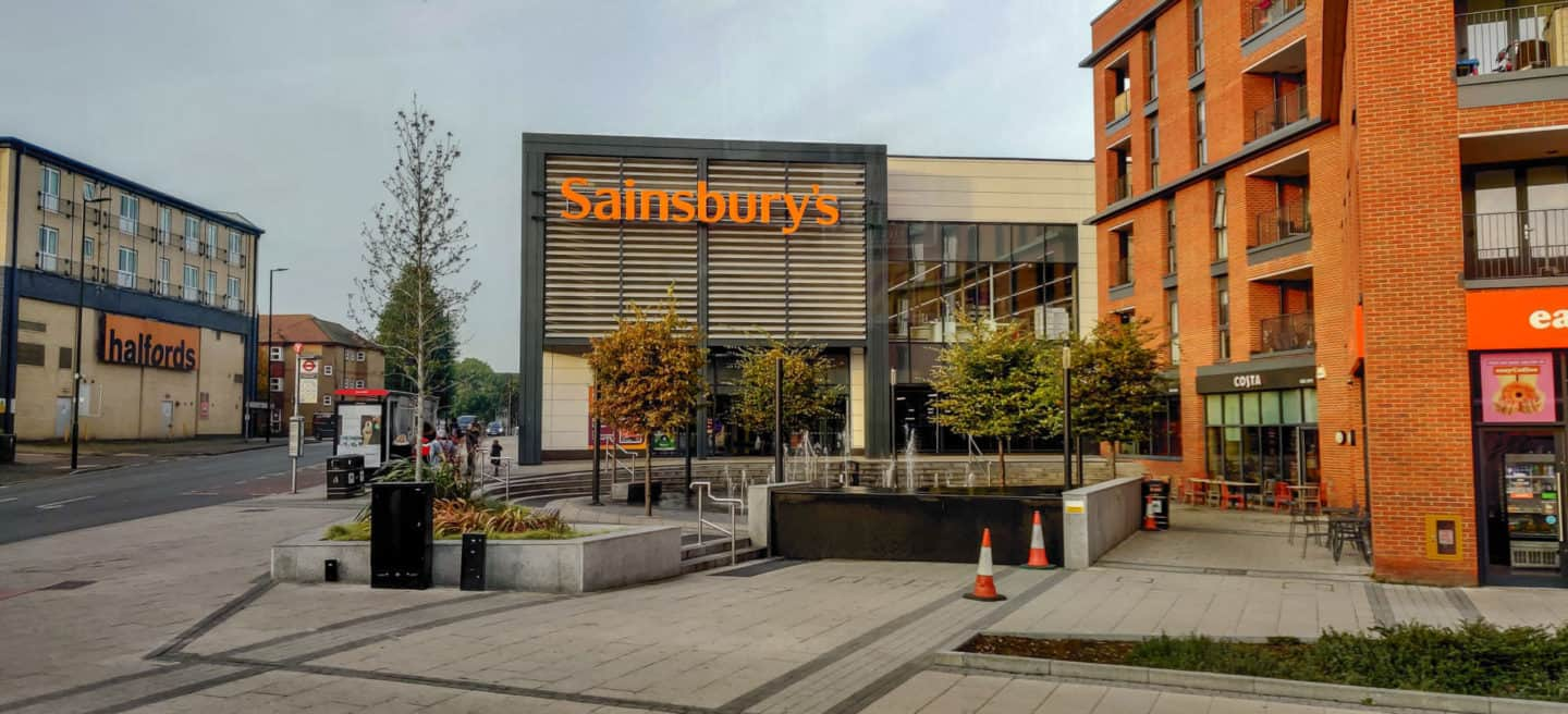 Sainsbury's is one of the bigger London Grocery Store chains