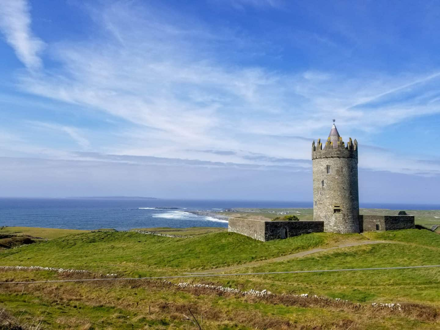 Doonagore Castle is one of the things to do in Doolin, Ireland