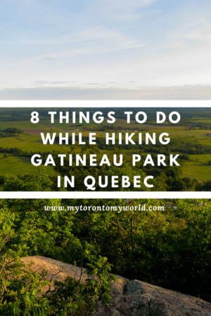 Gatineau Park in Quebec is a nature heaven and there's plenty to see and do while hiking the park. #gatineaupark #chelsea #quebec