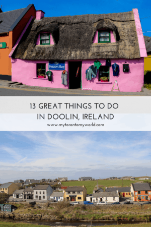 There are a number of great things to do in Doolin, Ireland. While the town is most known for being close to the #cliffsofmoher, it actually has a lot more to offer and #Doolin is a must stop on an #Ireland road trip!