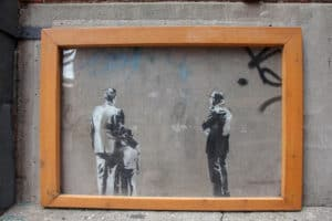 Seeing one of the last remaining Banksy Pieces is one of the things to do during one day in Toronto
