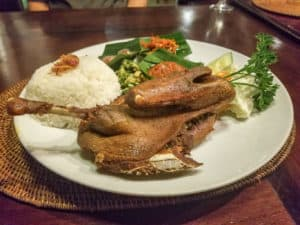 Bebek Tepi Sawah is one of the best Indonesian food dishes