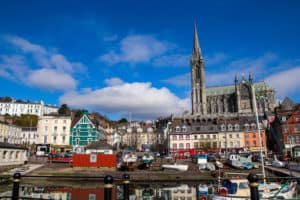 Overview of Cobh Harbour