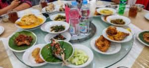 Many of the dishes served in a Nasi Padang meal which is one of the best Indonesian foods to try