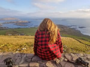 One of the viewpoints on the Ring of Kerry