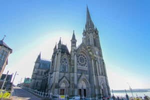 Exterior shot of St. Colman's Cathedral which is one of the things to do in Cobh, Ireland