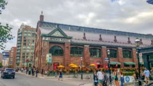 Eating at the St. Lawrence Market is one of the things to during one day in Toronto