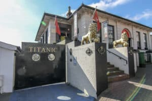 The exterior of the Titanic Experience which is one of the things to do in Cobh, Ireland