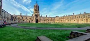 Tom Quad at Christ Church College in Oxford