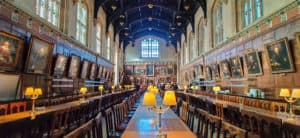 The Great Hall at Christ Church College in Oxford