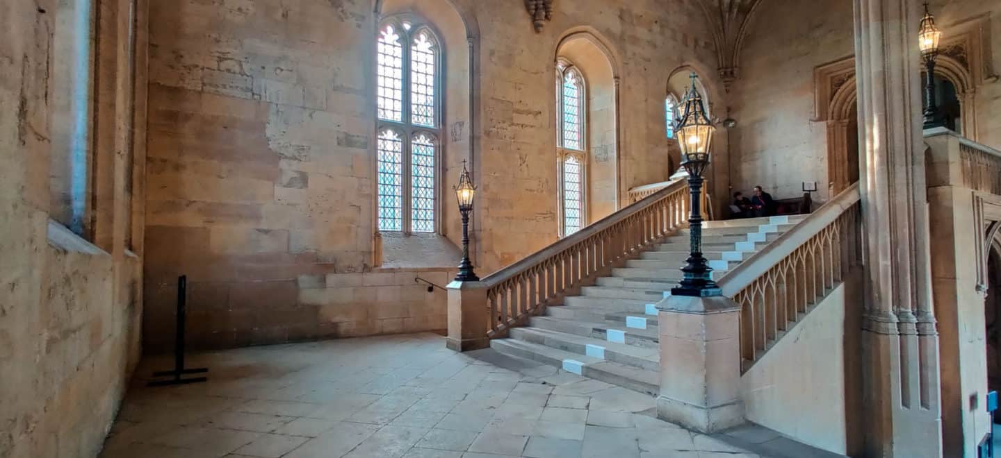The Bodley Staircase at Christ Church College