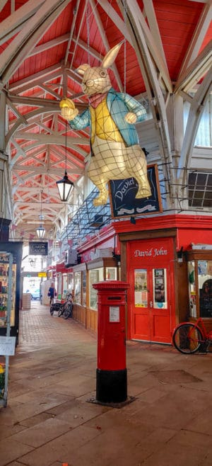 The Oxford Market which is one of the things to see during an Oxford Day Trip