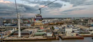 The view from the Emirates Cable Car