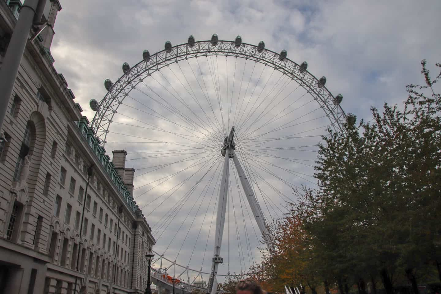 The London Eye has one of the best views of London