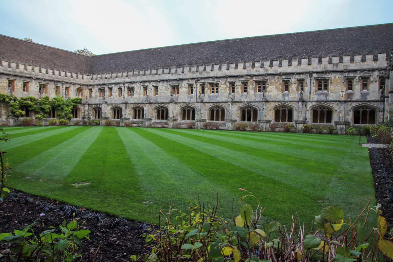 Quad at Magdalen College