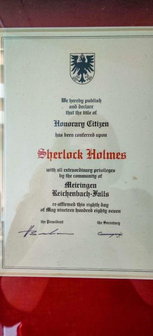 Sherlock Holmes Museum Details