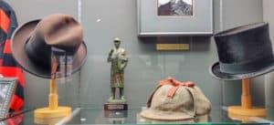 Details from the Sherlock Holmes Museum in Meiringen, Switzerland