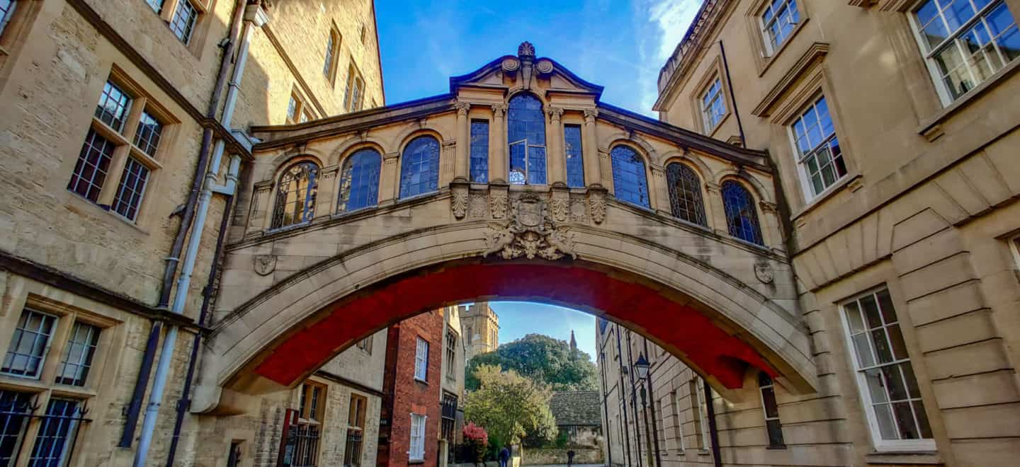 Bridge of Sighs with New College in the background