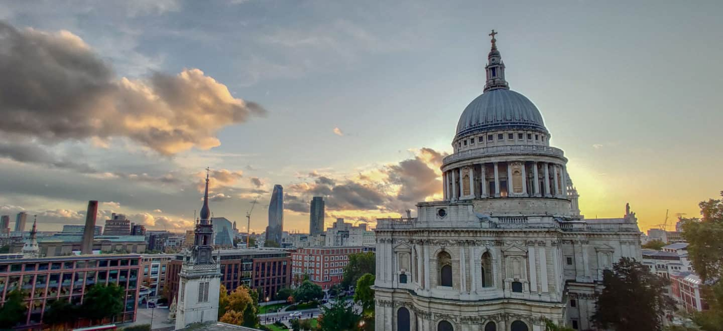 One of the best views of London is the one at the rooftop of One New Change