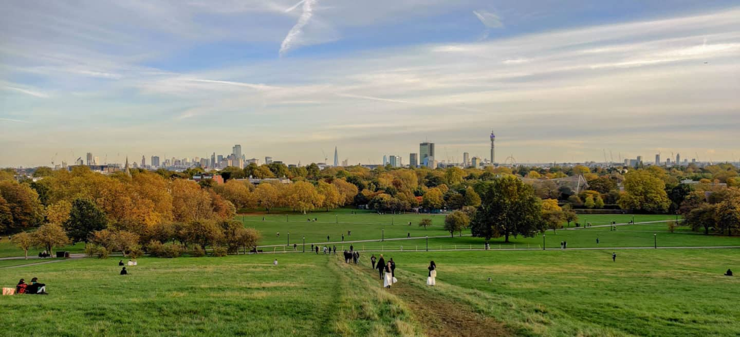 Primrose Hill is one of the best views in London