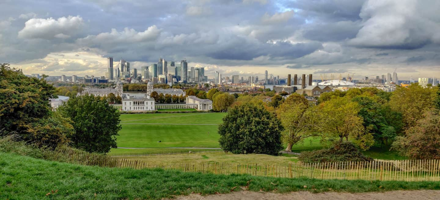 The view from the Royal Observatory