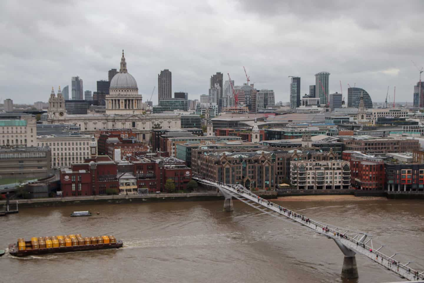 One of the best views of London is the one at the Tate Modern Observatory
