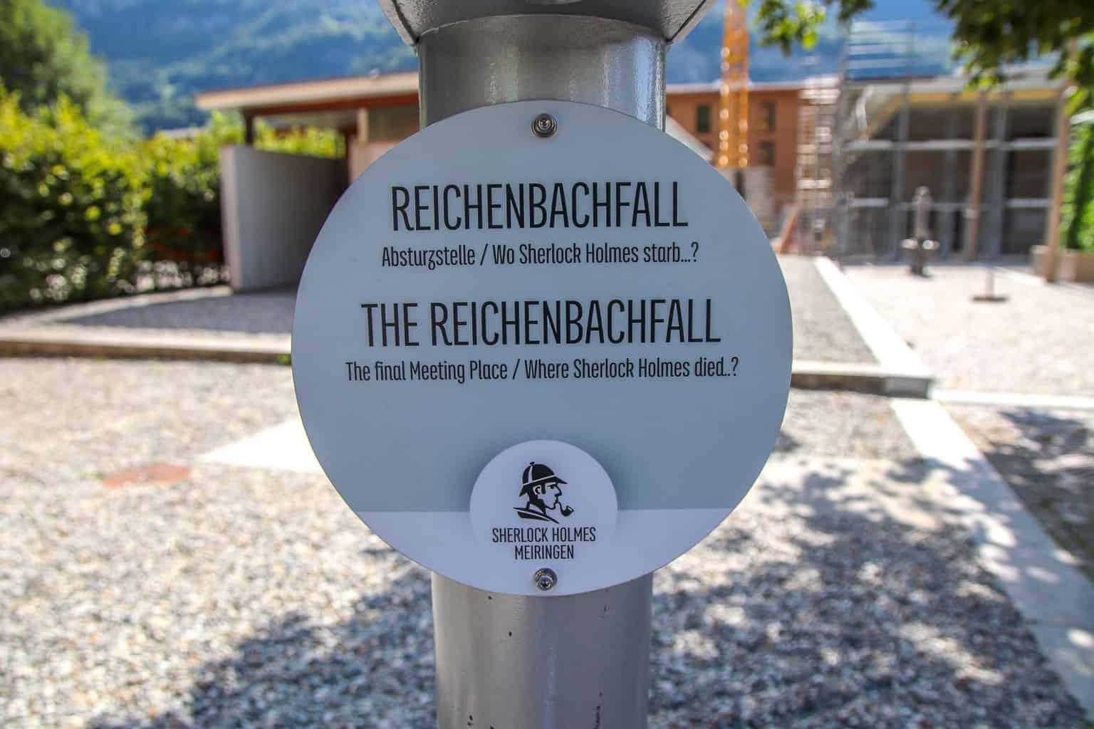 Reichenbach Falls Viewing Telescope