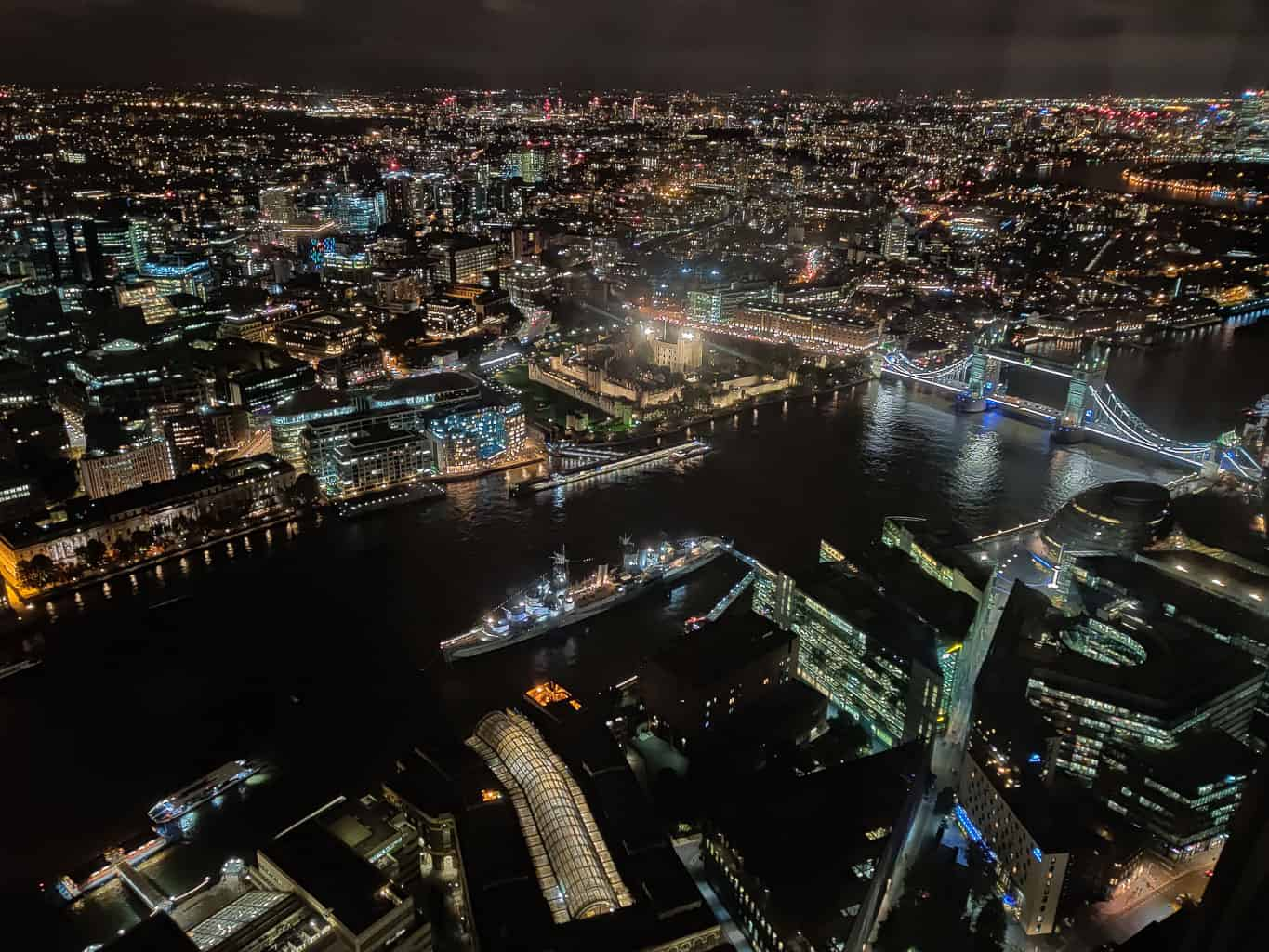 The Shard has one of the best views of London